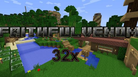 Ресурспак Custom Faithful [32x] для Minecraft 1.6.4