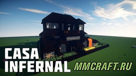 Карта: Infernal house | MEGA Planet