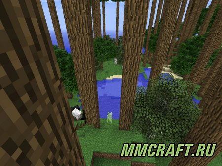 Мод Higher Trees and Other Stuff для Minecraft 1.5.2
