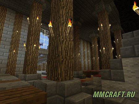 Карта Flying Castle (GunGame) для Minecraft