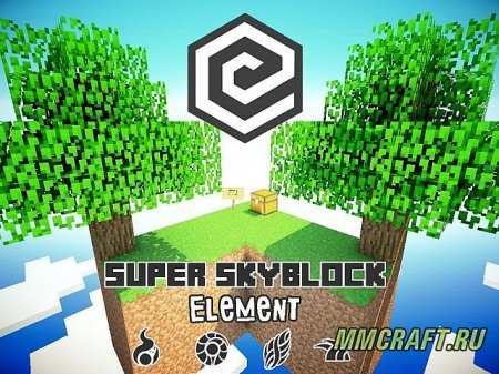 Карта: Super Element SkyBlock