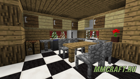 Мод MrCrayfish's Furniture интересах Minecraft 0.8