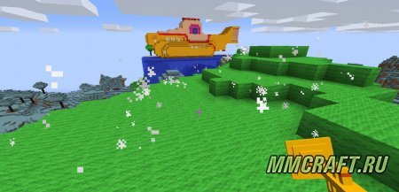 Мод Yellow Submarine для Minecraft 1.8