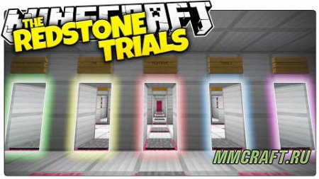 Карта The Redstone Trials для Minecraft