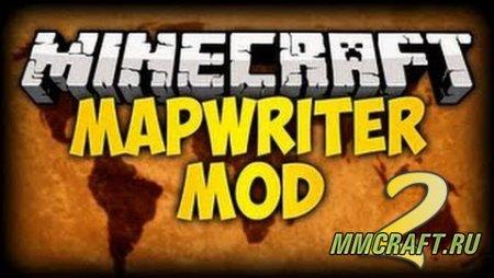 Мод Mapwriter 0 ради Minecraft 0.8
