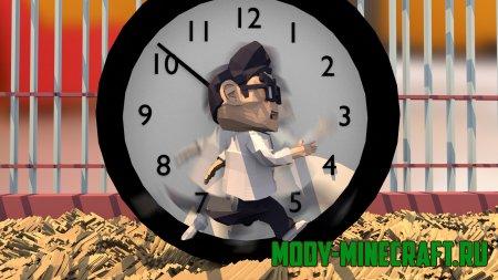 Мод Real Time Clock (Часы) для Minecraft 1.10.2