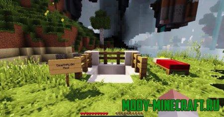 Мод Audio Death Mod (Звуки смерти) для Minecraft 1.13.2