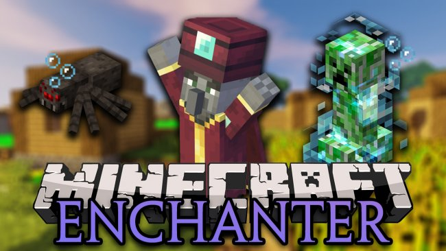 Мод Enchant with Mobs 1.16.1/1.15.2