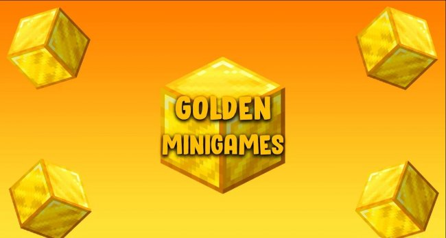 Карта Golden Minigames для Minecraft 1.15.2