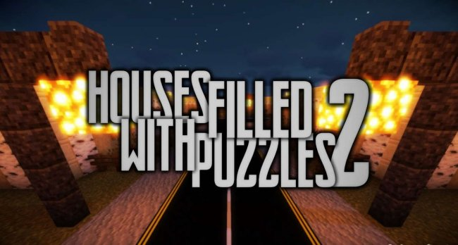 Карта Houses Filled With Puzzles 2 для Minecraft 1.16.4
