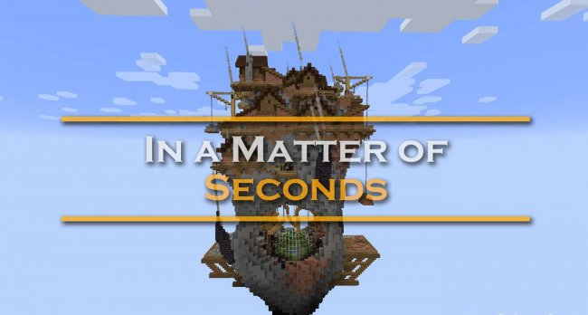 Карта In a Matter of Seconds для Minecraft 1.16.3
