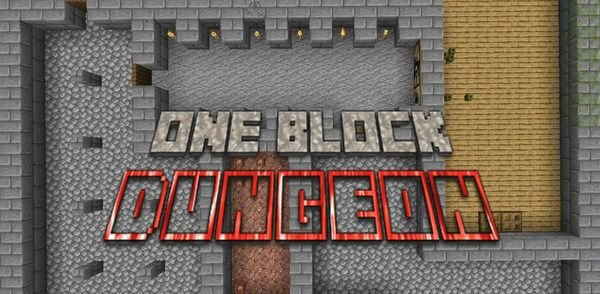 Карта One Block Dungeon для Minecraft 1.14.4