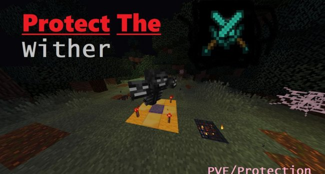 Карта Protect The Wither для Minecraft 1.14.4