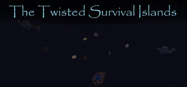 Карта The Twisted Survival Islands для Minecraft 1.14.4